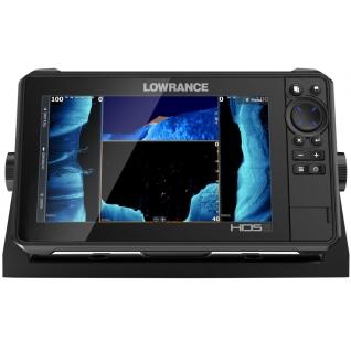 Эхолот Lowrance HDS-9 LIVE с датчиком Acitve Imaging 3-в-1 (000-14422-001) (+ Аккумулятор, зарядка и струбцина в подарок!)