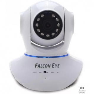 Falcon Eye Falcon Eye FE-MTR1000 Поворотная Wi-Fi IP видеокамера;Объектив 3,6мм;Матрица 1/4 CMOS; Разрешение 1280*720 пикс.; Чувствительность 0,1 Люкс; ИК-подсветка до 10 м.Двухстороняя аудиосвязь