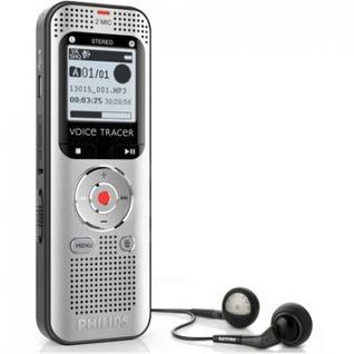 Диктофон цифровой Philips DVT2000 silver black