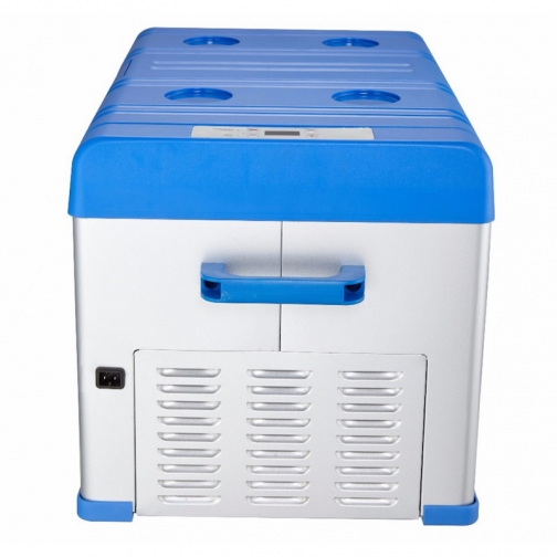 Kомпрессорный автохолодильник ALPICOOL A30 синий (30л, 12/24/220В) 36995010
