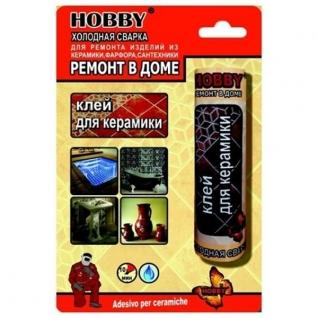 "Холодная сварка Hobb"" для керамики, сантехники, фарфора 55г"
