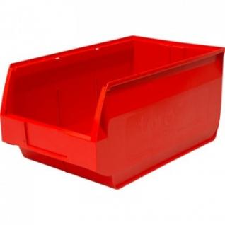 Контейнер ПП,500х310х250мм, Venezia,сплош/сплош, красный арт.5006