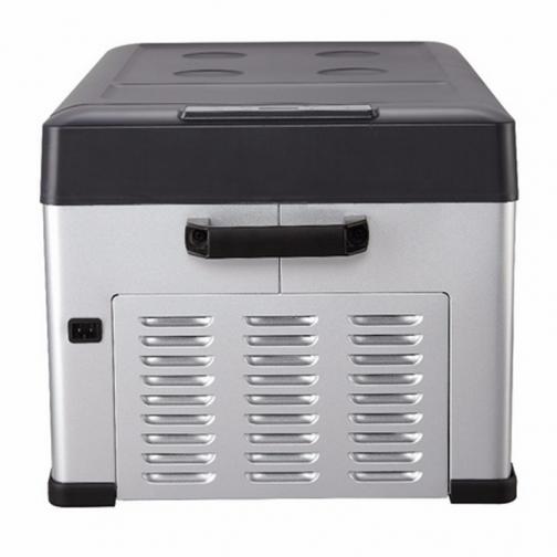 Kомпрессорный автохолодильник ALPICOOL C25 черный (30л, 12/24/220В) 36995006 1