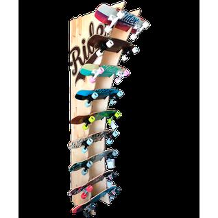 """Стойка для скейтбордов Ridex """"арка"""", пристенная, 230 см"""