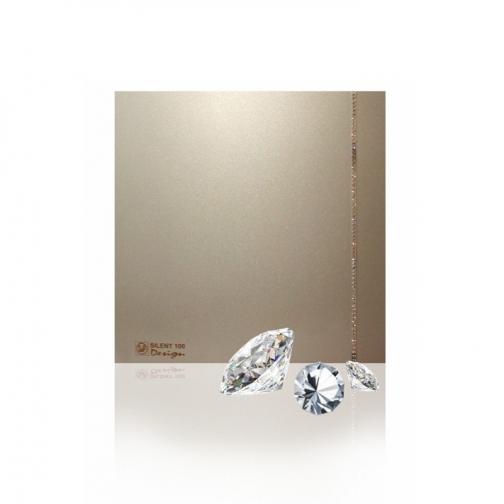 Вентилятор Soler & Palau Silent-100 CZ Champagne Swarovski Design 6770072