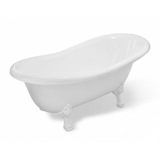 Отдельно стоящая ванна Эстет Марсель белая