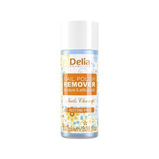 Жидкость для снятия лака Delia безацетоновая для натуральных и искусственных ногтей 100 мл