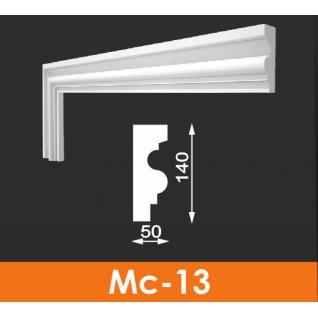 Молдинг фасадныйАрхитекМс-13 140*50 из пенопласта