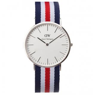 Часы Daniel Wellington Сanterbury (серебряный корпус)