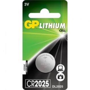 Батарейки GP CR2025, 3V, литий, бл/1шт