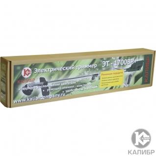 Калибр ЭТ-1700ВР+ Триммер электрический (1,7кВт, 250/420мм, нож/леска)