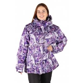 Куртка горнолыжная женская большого размера 14114