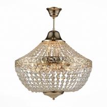 Люстра подвесная St Luce Французское золото/Прозрачный E14 11*40W