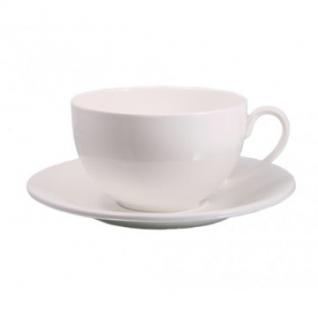 Чашка для чая, Wilmax белая, фарфоровая 250 мл WL-993000 - A
