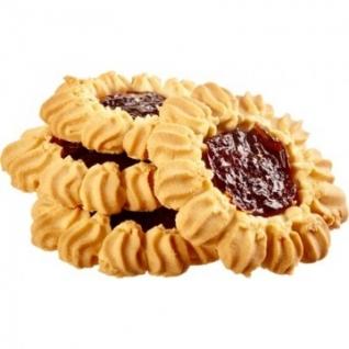 Печенье сдобное Кухмастер Тарталетки вишневые 240г