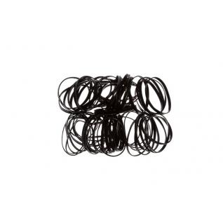 Резинки латексные черные ( )