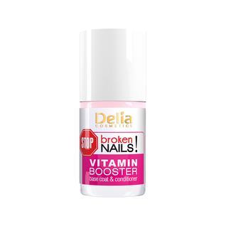 Средство Delia Vitamin Booster мультивитаминный для поврежденных и ослабленных ногтей