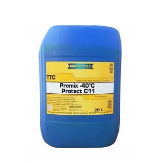 Антифриз Ravenol TTC Traditional Technology Coolant Premix 20л