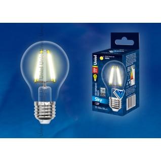 Uniel LED-A60-8W/WW/E27/CL PLS02WH картон