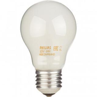 Электрическая лампа Philips стандартная/матовая 60W E27 FR/A55 (10/120)