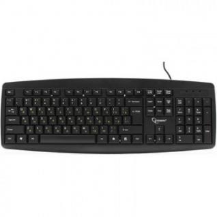 Клавиатура Gembird KB-8351U-BL, черный, USB, 104 клавиши