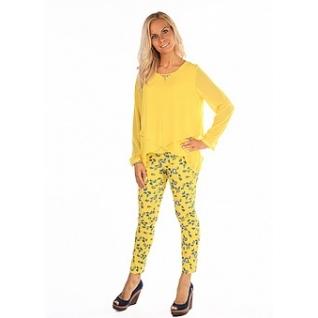 Блуза с длинным рукавом 46 размер