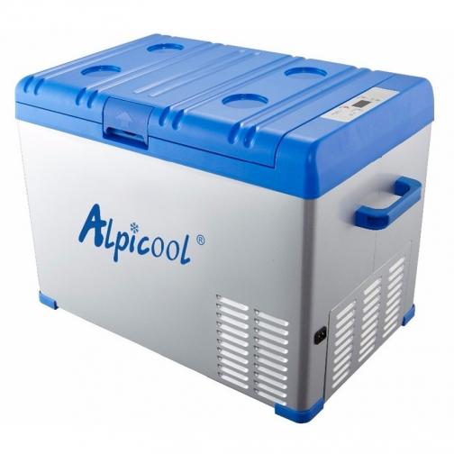 Kомпрессорный автохолодильник ALPICOOL A40 синий (40л, 12/24/220В) 36995013 4