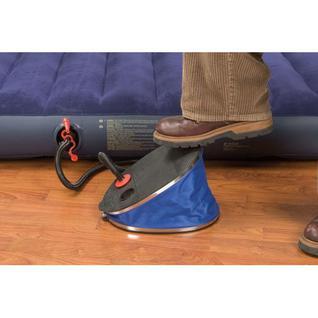 Насос-помпа Intex бол.ножной 36см, 3 насад.синий