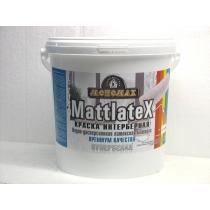 Краска Мономах Мattlatex Premium, 98% белизны ИНТЕРЬЕРНАЯ 40 кг