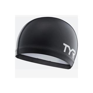 Шапочка для плавания Tyr Silicone Comfort Swim Cap, силикон, Lsccap/001, черный