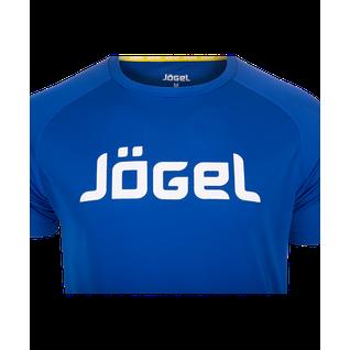 Футболка тренировочная Jögel Jtt-1041-079, полиэстер, синий/белый размер L