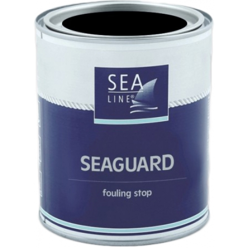 Необрастающая краска (антифоулинг) Sea-Line Seaguard 2,5л чёрная (11251) 36993498