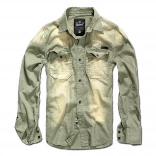 Brandit Рубашка Brandit Hardee, цвет оливково-серый