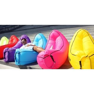 Надувной диван - гамак lamzac New фиолетовый Hobbyxit