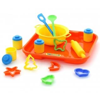 Набор детской посуды для выпечки №1 с подносом Полесье