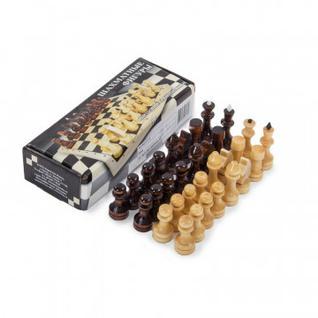 Набор шахмат лакированных без доски арт.2541