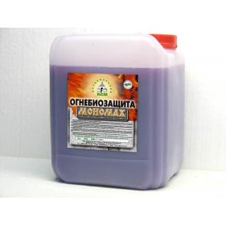 Огнебиозащита (красная и бесцветная) Мономах Premium 10л