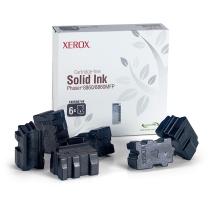 Твёрдые чернила Xerox 108R00820 для Xerox Phaser 8860, оригинальные (чёрные, 6 шт, 14000 стр) 8008-01