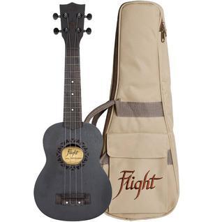 Укулеле - гавайская гитара Flight Nus 310 Blackbird, сопрано NUS310 BLACKBIRD