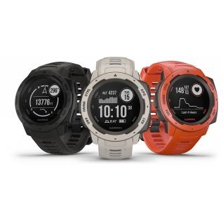Прочные GPS-часы Garmin Instinct Flame Red