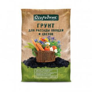 Грунт для рассады и овощей Огородник 9л ТП0101ОГО13
