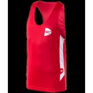 Форма боксерская Green Hill Interlock Bsi-3805, красный размер M