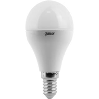 Gauss Лампа Gauss LED Globe E14 6.5W 2700K 1/10/50