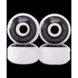 Комплект колес для скейтборда Ridex Sb, 53*32, белый/черный, 4 шт.
