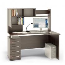 Компьютерный стол Венге, Левый Правый 104
