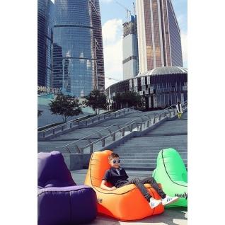 Надувной диван lamzac кресло NEW оранжевый Hobbyxit