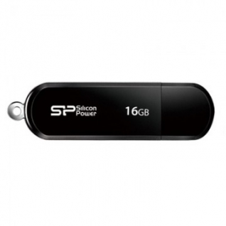 Флеш-память Silicon Power Luxmini 322 16GB black