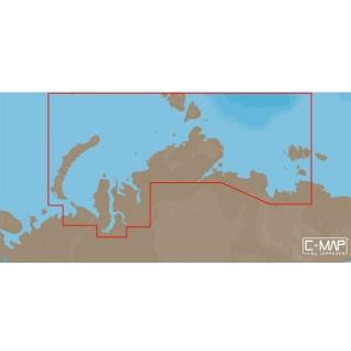 Карта C-MAP RS-N203 - Северное побережье России C-MAP