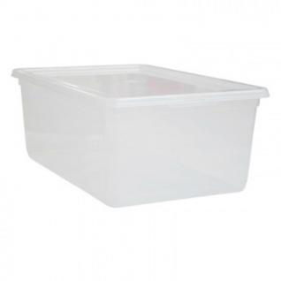 Ящик для хранения штабелируемый пластик 10 л, с крышкой