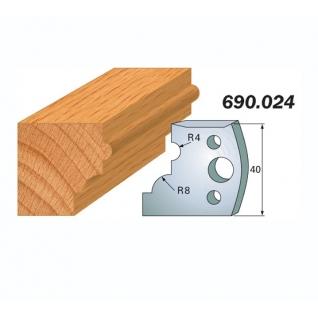 Комплект из 2-х ножей SP CMT 690.024